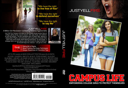 Just Yell Fire - Campus Life DVD Cover