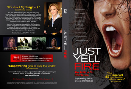 Just Yell Fire - Movie DVD Cover
