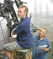Enlarge Cameraman_Ed-Henry_and_Director_Takafumi-Uehara